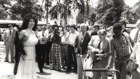 Kellie Everts - Fatima speech in front of the White House June 16, 1978, ended the Cold War and the threat of WWIII - nuclear annihilation of our planet - See the Kellie Everts biographical site