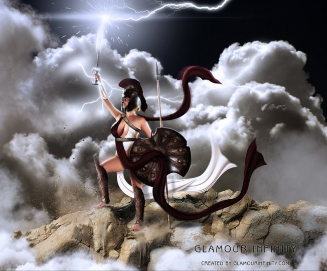 THE WARRIOR GODDESS KILLS THE PATRIARCHAL DEMONS