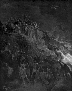 GUSTAVO DORE - GOOD/EVIL ANGELS