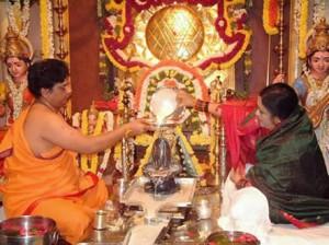 shiva linga puja yoni sri chakra srividya