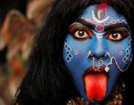 KALI KILLS MEN! TO STOP THEIR PATRIARCHY