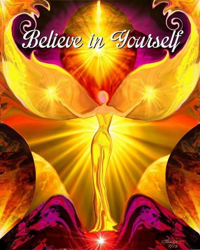 BELIEVE IN YOURSELF-GOD
