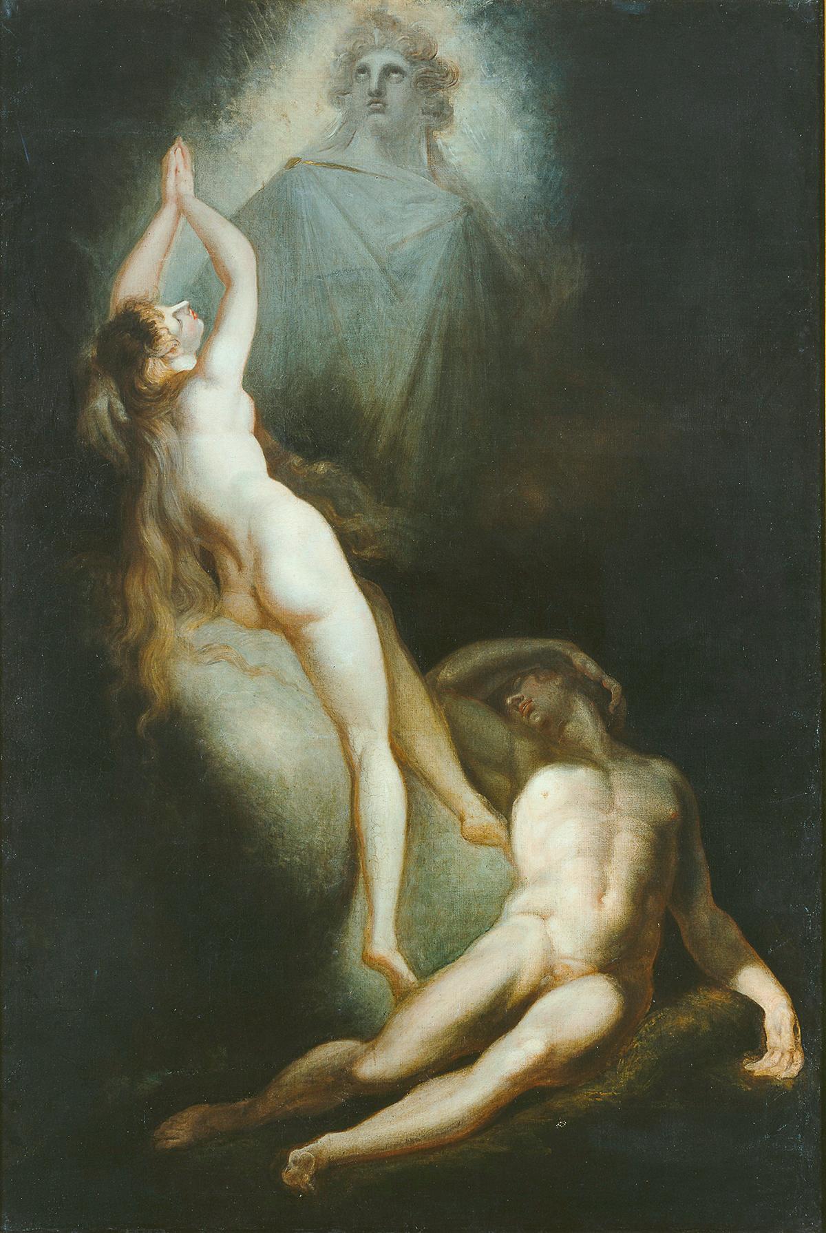 Johann Heinrich Füssli; Die Erschaffung Evas; 1791-1793