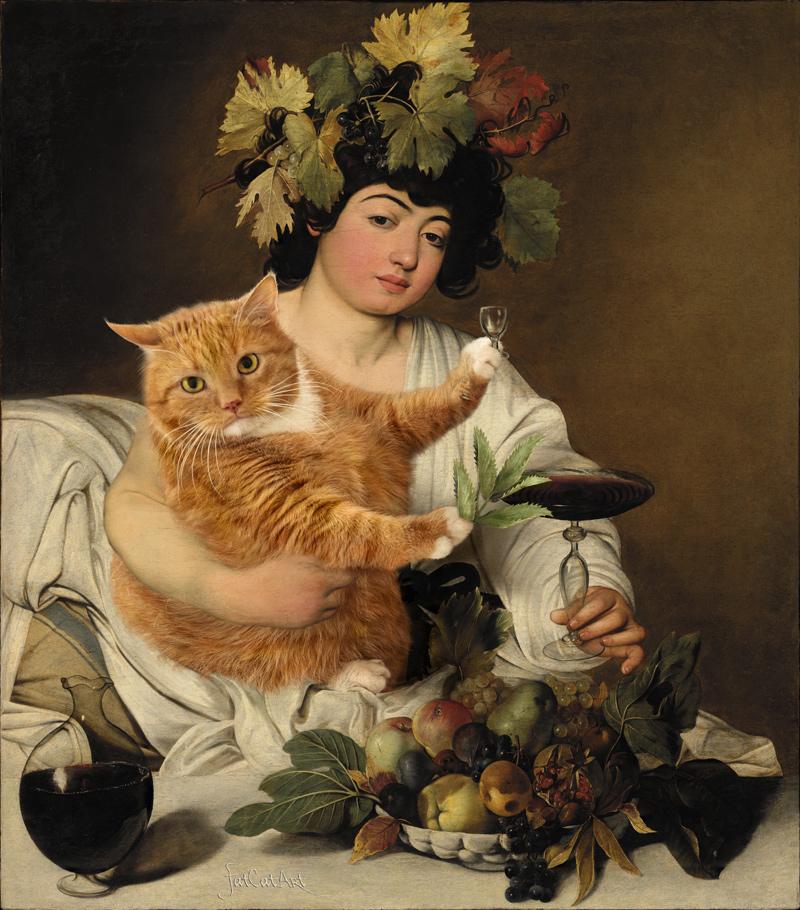 caravaggio-bacchus-cat-w