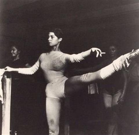 ed-van-der-elsken-paris,-studios-wacker,-clichy,-brigitte-bardot-as-a-ballet-student,-1951