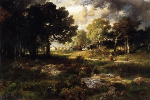 thomas-moran-romantic-landscape
