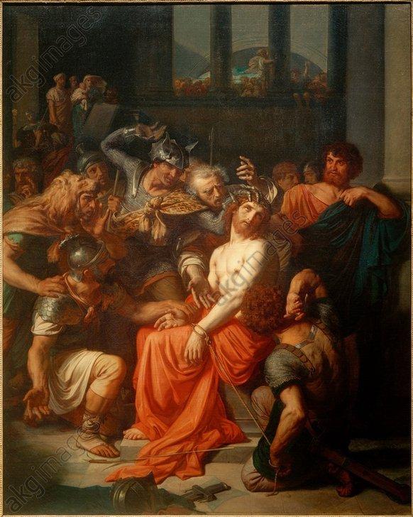 A.Cabanel, Die Verspottung Christi -  -