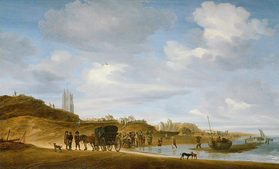 the-beach-at-egmond-an-zee-salomon-van-ruysdael (1)