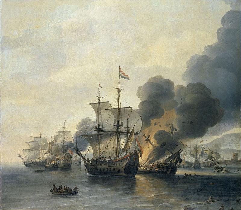 Seeschlacht-bei-Livorno-am-14.-März-1653