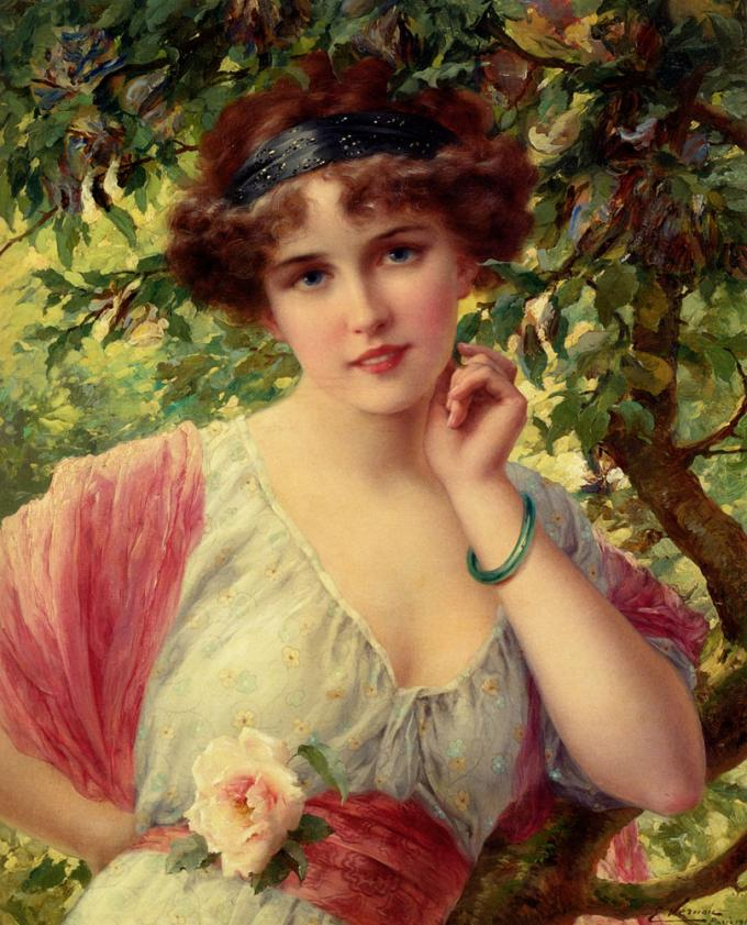 Émile_Vernon_-_A_Summer_Rose