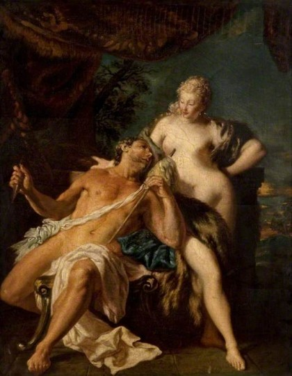 Lemoyne, Francois, 1688-1737; Hercules and Omphale