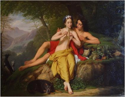 Louis-Hersent-Daphnis-si-Chloe-1817