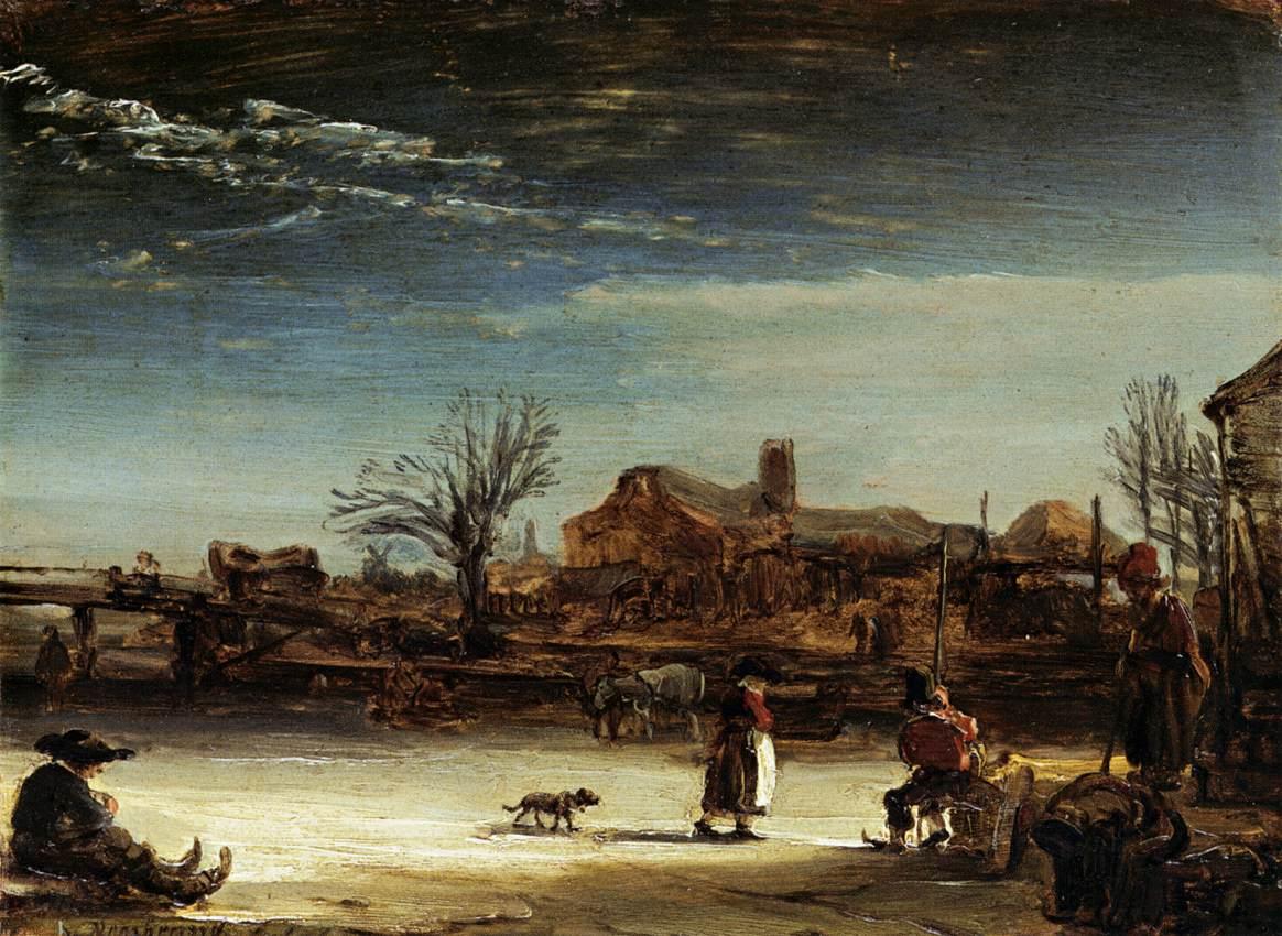 rembrandtvanrijn_winter_landscape