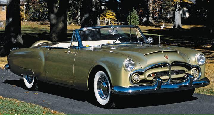 1952 Packard Pan American.
