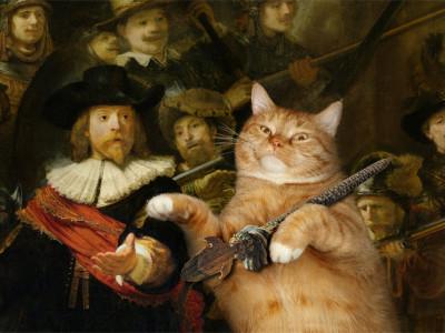 Rembrandt__Nachtwacht-cat-min-400x300