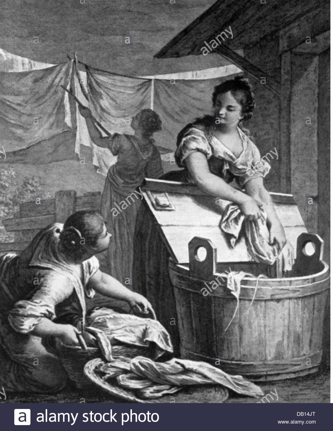 household-washing-laundresses-engraving-18th-century-18th-century-DB14JT