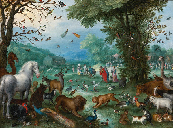 paradise-landscape-with-the-animals-entering-noahs-ark-jan-brueghel-the-elder