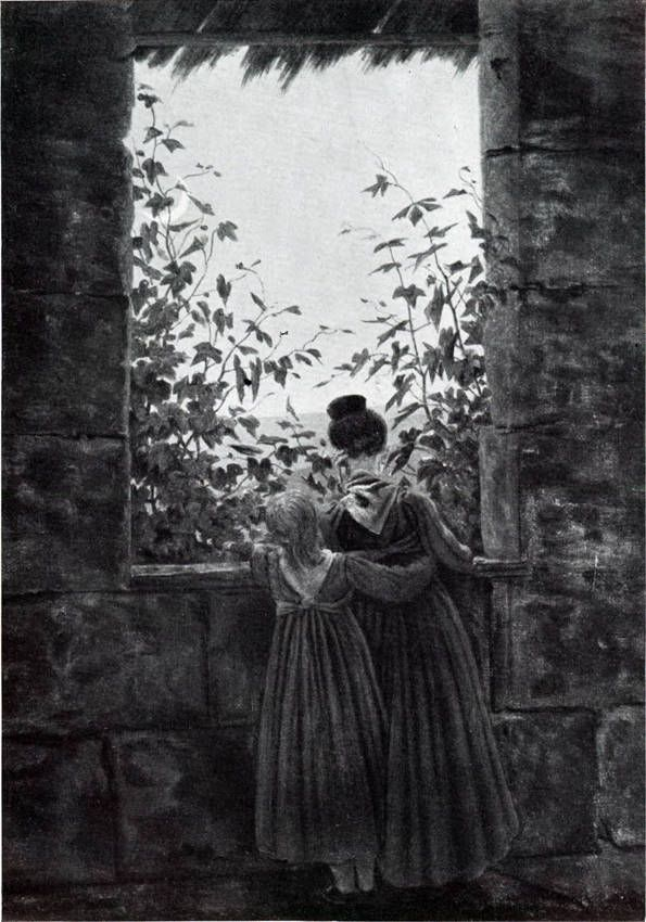 07b-Caspar David Friedrich-Evening