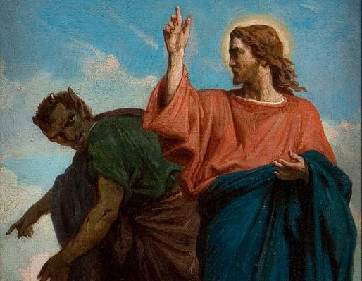 514px-Félix_Joseph_Barrias_-_The_Temptation_of_Christ_by_the_Devil_-_Google_Art_Project
