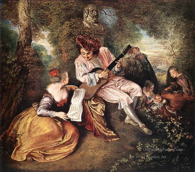 7-La-gamme-damour-The-Love-Song-Rococo-Jean-Antoine-Watteau