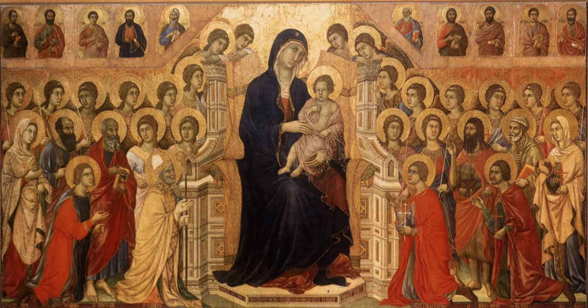 Duccio_di_Buoninsegna_-_Maestà_Madonna_with_Angels_and_Saints_-_WGA06742