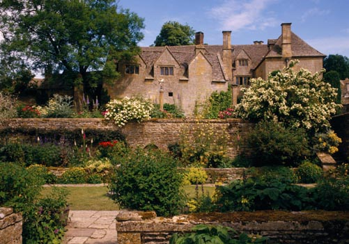 View of the West front of Snowshill Manor, Gloucestershire