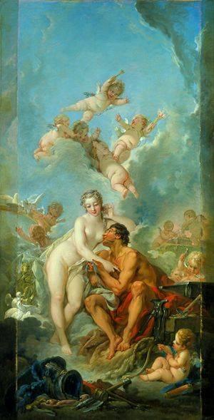 Venus-And-Mars-Boucher-Francois-Oil-Painting