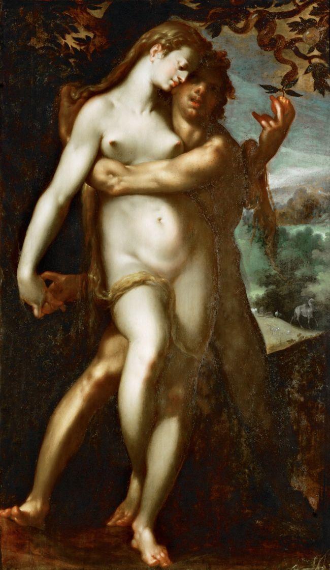 Venus-and-Adonis-Bartholomaeus-Spranger-oil-painting