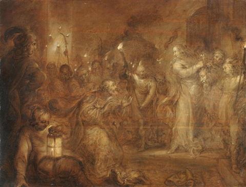 adriaen-pietersz-van-de-venne-judith-presenting-the-head-of-holofernes