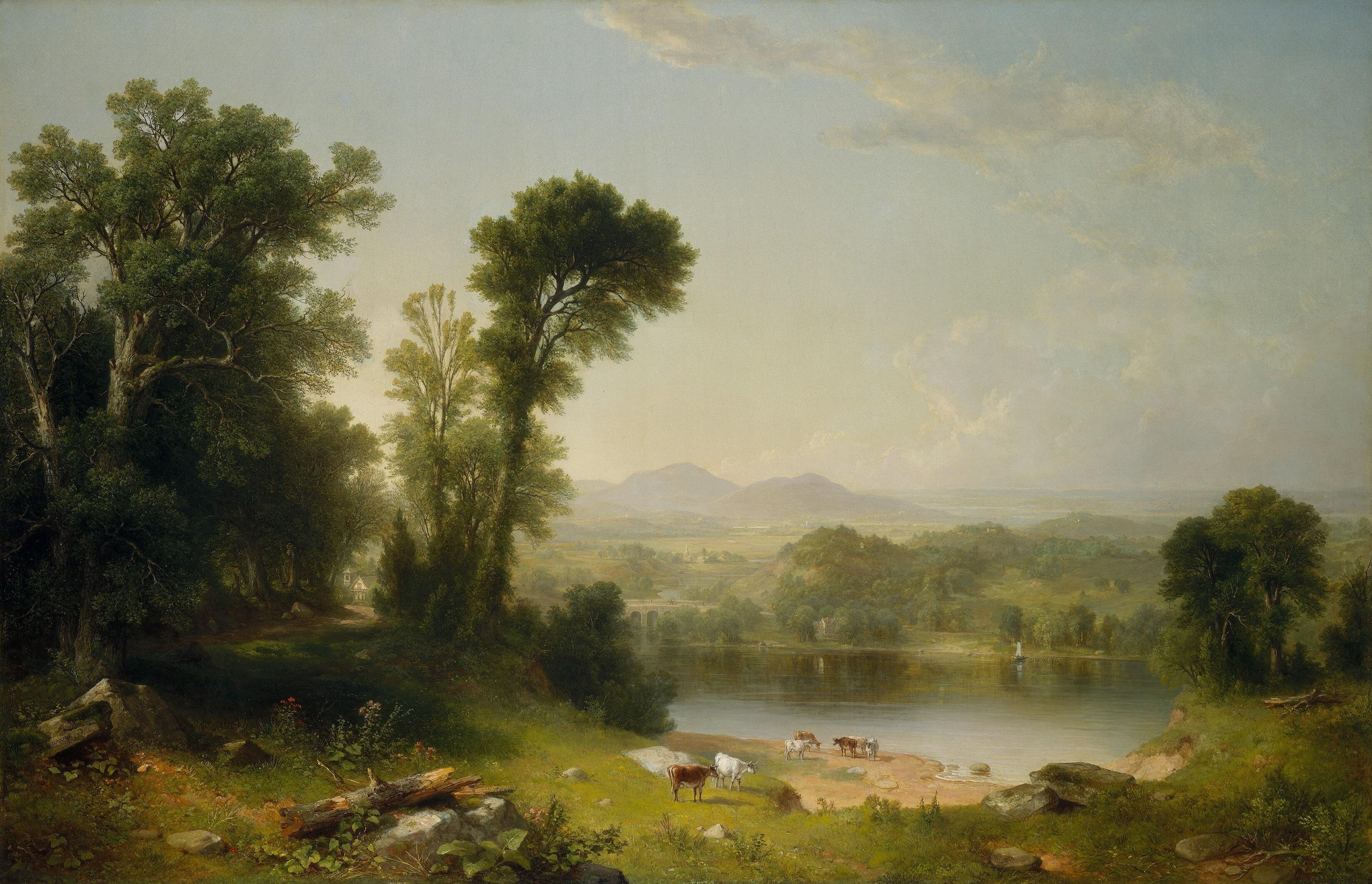 Pastoral_Landscape-1861-Asher_Brown_Durand