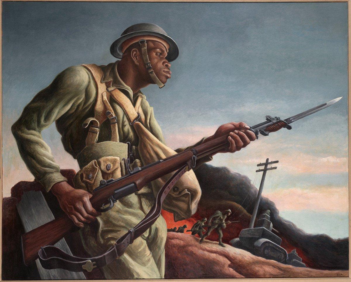 Thomas-Hart-Benton-Negro-Soldier