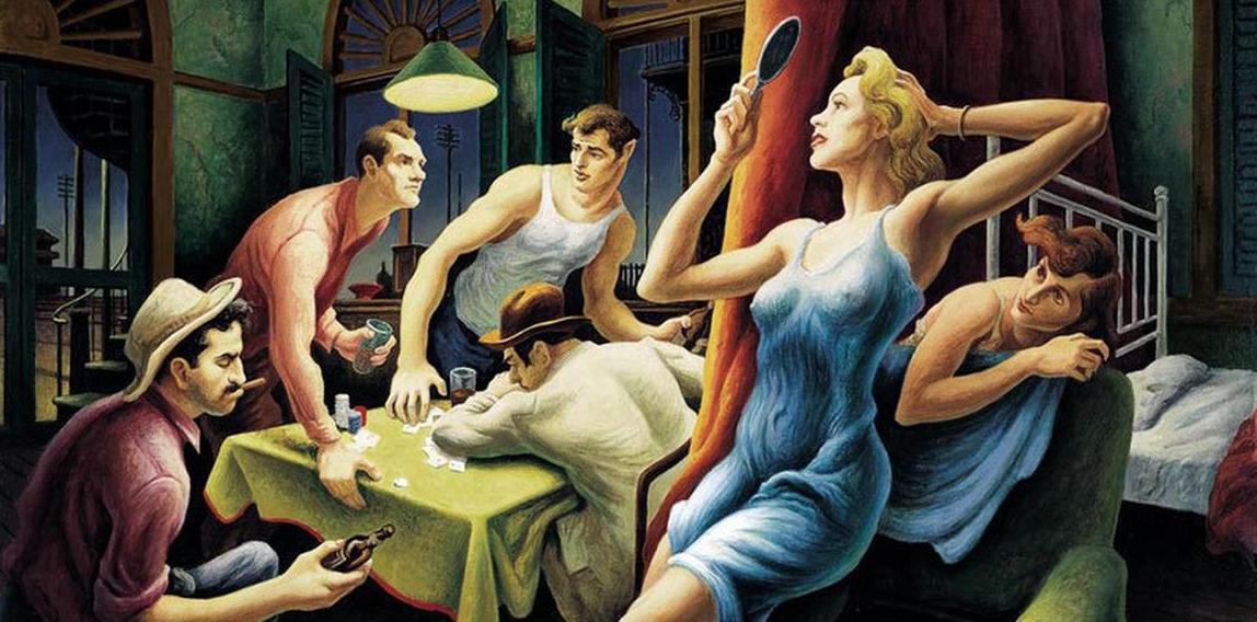 Thomas-Hart-Benton-Poker-Night-from-A-Streetcar-Named-Desire-1948