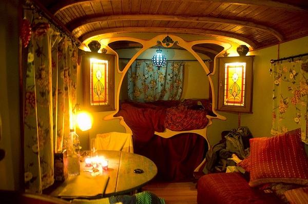 gypsy caravan interior 3