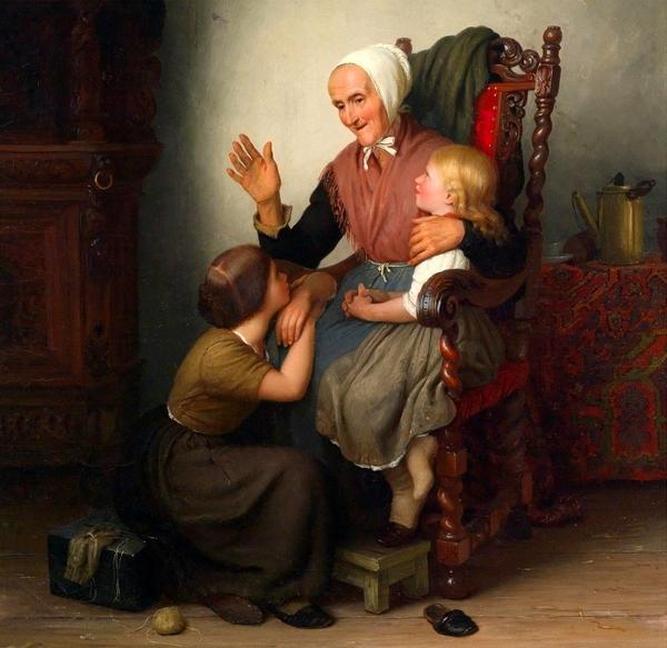 johann-georg-meyer-von-bremen-with-the-grandmother
