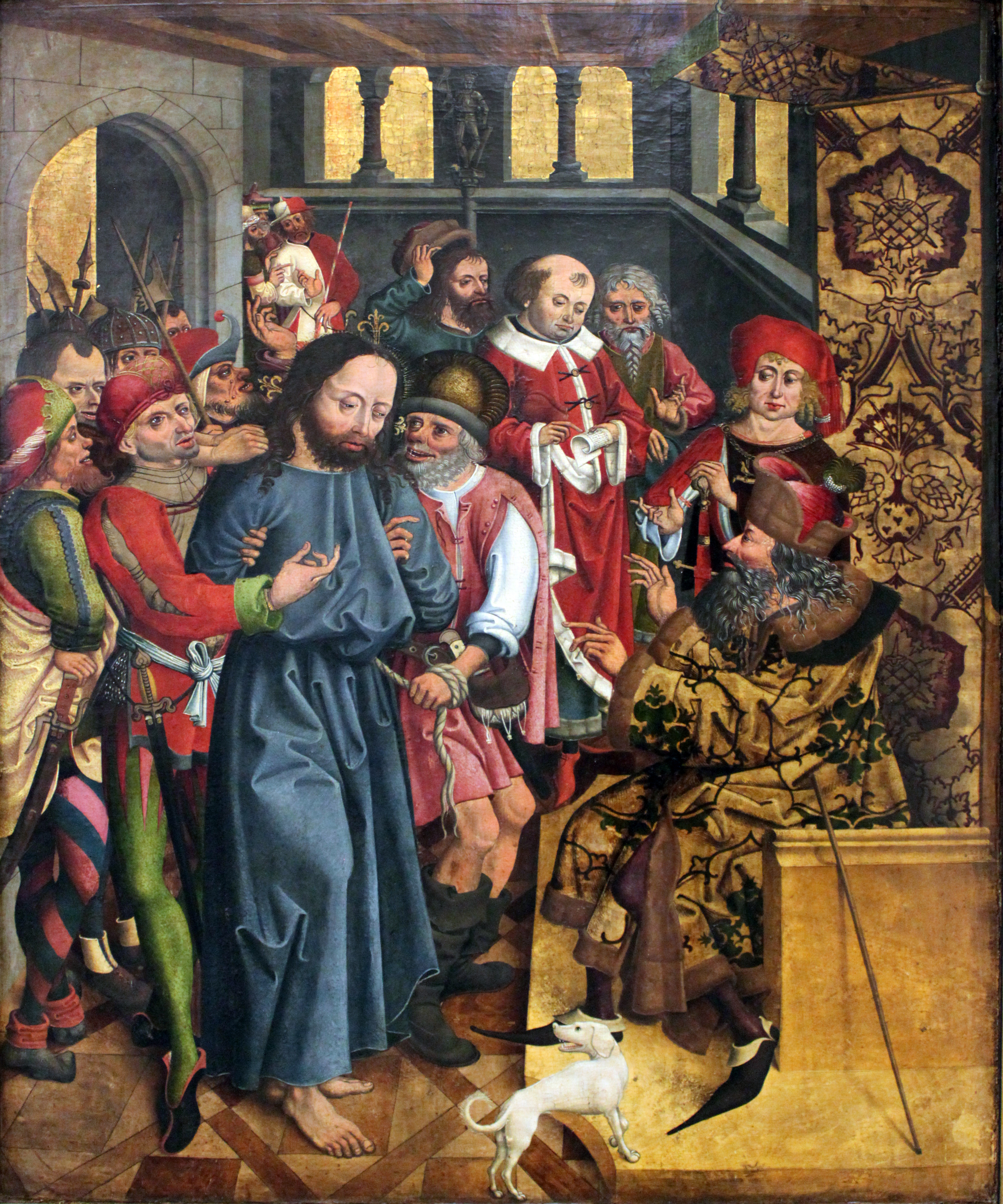 1483_Katzheimer_Christus_vor_Kaiphas_anagoria