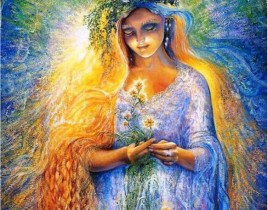 5d-diy-Full-round-diamond-painting-angelic-girl-embroidery-cross-stitch-rhinestone-mosaic-painting-decor-YZ019z