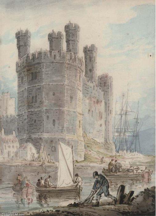William+Payne-Caernarvon+Castle,+Wales