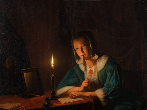 johannes-rosierse-girl-by-candlelight