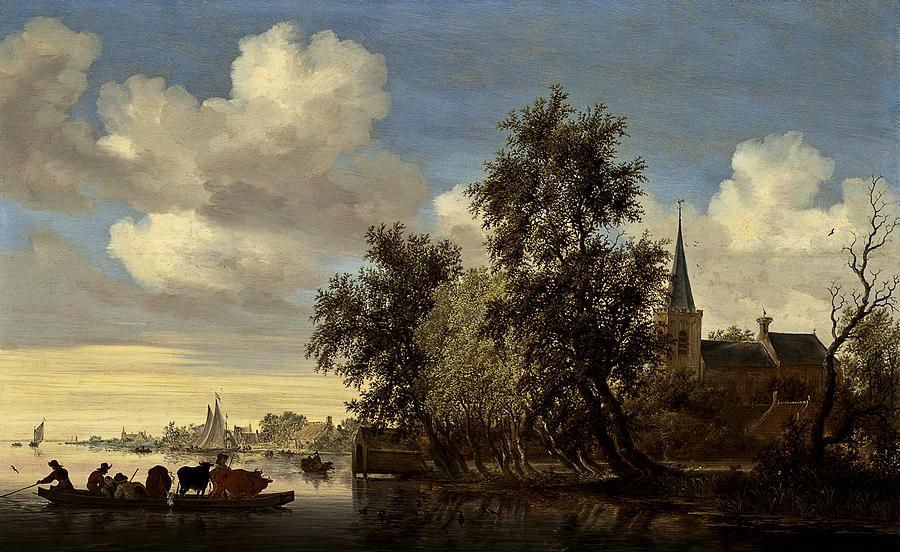 landscape-salomon-van-ruysdael