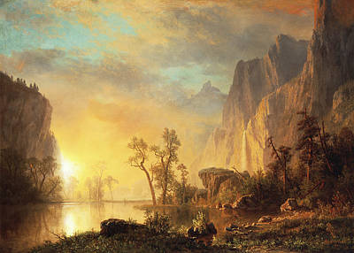 sunset-in-the-rockies-albert-bierstadt