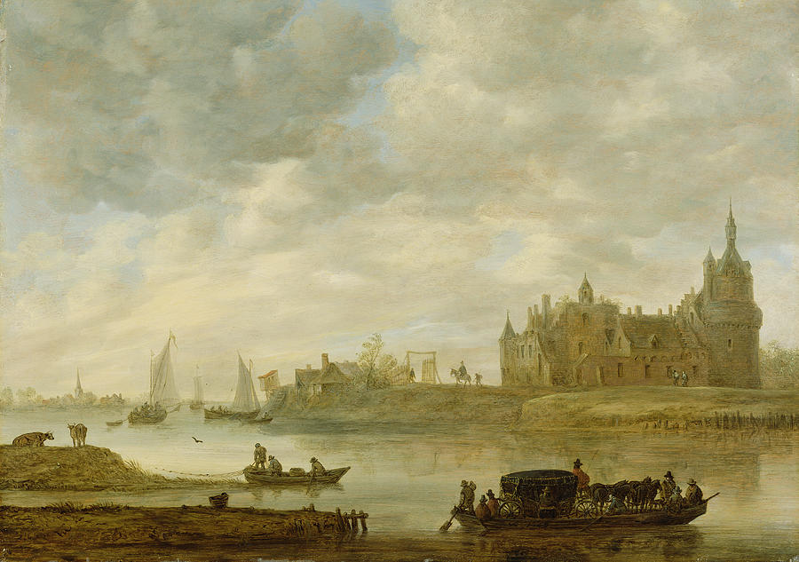 view-of-the-castle-of-wijk-at-duurstede-jan-van-goyen