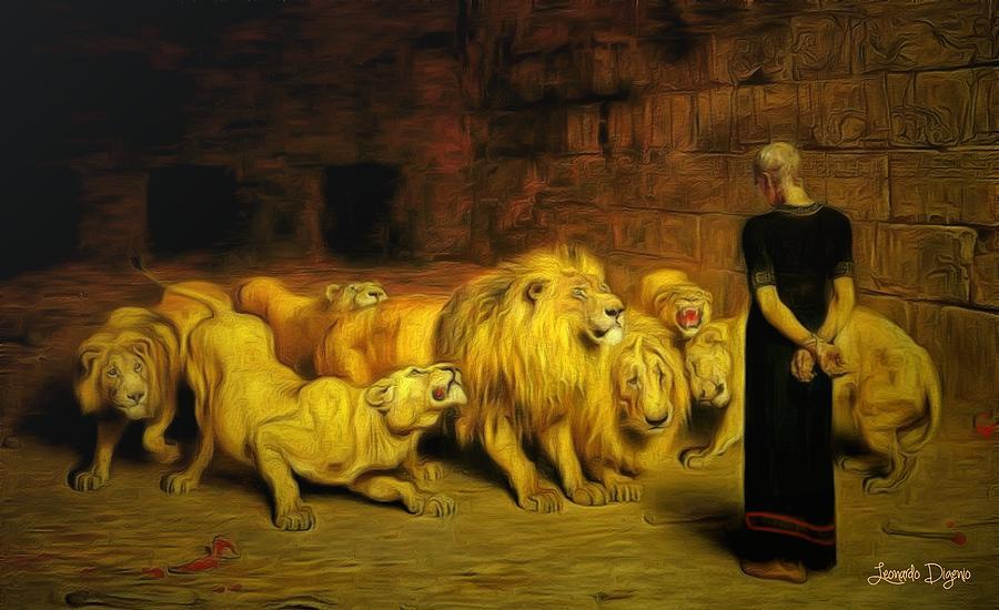 daniel-in-the-lions-den-leonardo-digenio