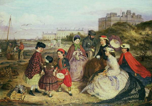 A-Victorian-Family-at-the-Seaside-xx-Charles-Wynne-Nicholls