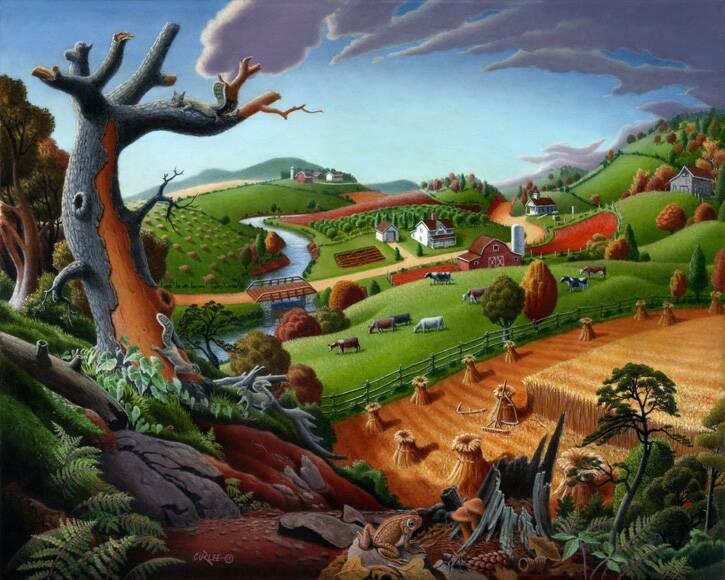 Autumn-Wheat-Harvest-Rural-Country-Americana-Folk-Art-Landscape-Painting-72dpi_op_725x580