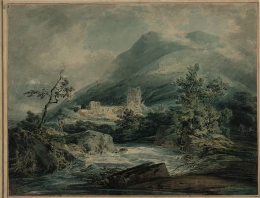 Llanthony Abbey 1794 by Joseph Mallord William Turner 1775-1851