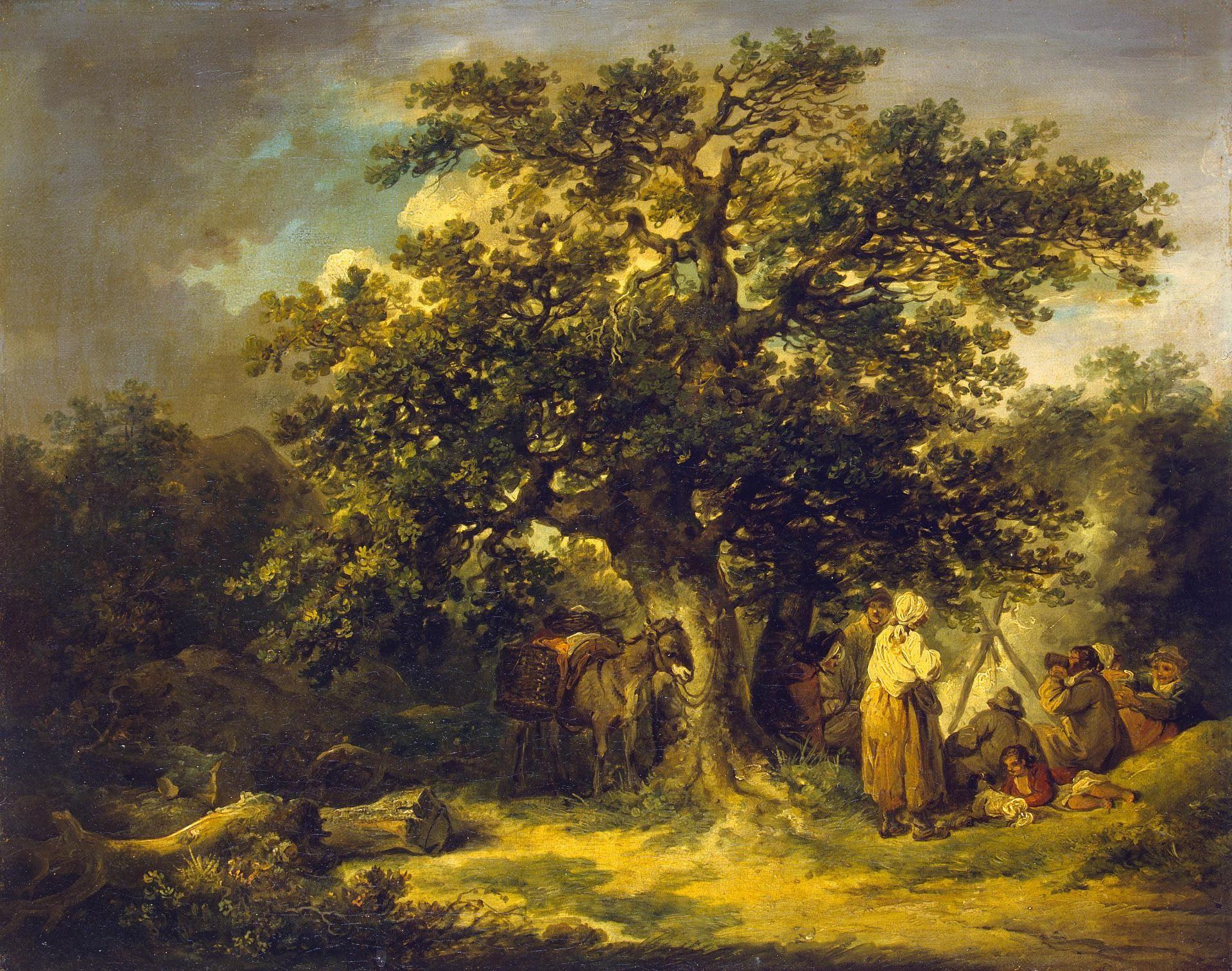 Gypsies-George-Morland-Oil-Painting